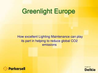 Greenlight Europe
