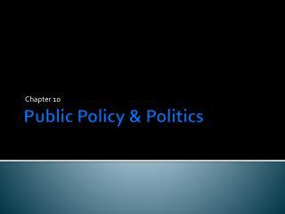 Public Policy & Politics