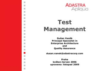 Test Management