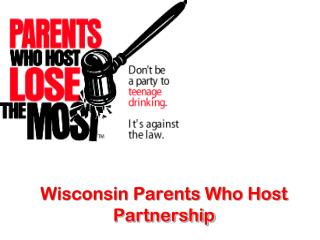 Wisconsin Parents Who Host Partnership