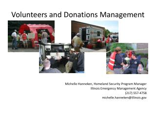 Volunteers and Donations Management