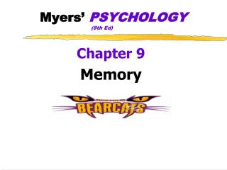 Myers '  PSYCHOLOGY (8th  Ed)