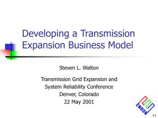 Developing a Transmission Expansion Business Model