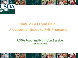 How To Get Food Help: A Consumer Guide to FNS Programs