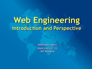 Web Engineering Introduction and Perspective