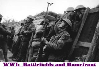 WWI:  Battlefields and Homefront