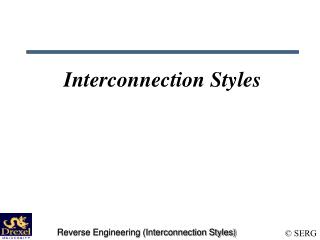 Interconnection Styles