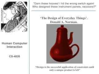 'The Design of Everyday Things'. Donald A. Norman.