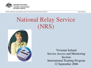 National Relay Service  (NRS)