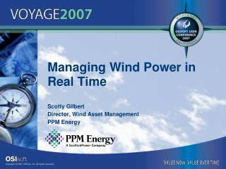 Managing Wind Power in Real Time