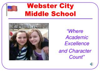 Webster City  Middle School