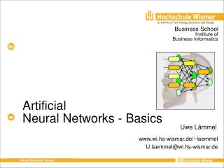 Artificial Neural Networks - Basics