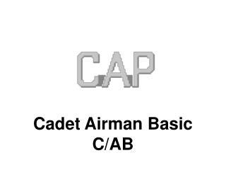 Cadet Airman Basic  C/AB