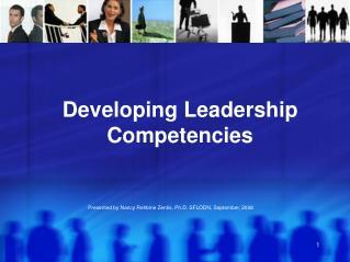 Developing Leadership Competencies