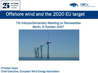 Offshore wind and the 2020 EU target