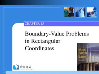 Boundary-Value Problems in Rectangular Coordinates