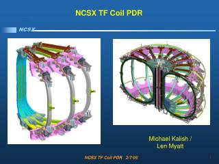 NCSX TF Coil PDR