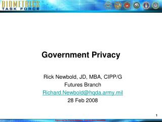 Government Privacy