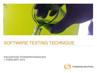 SOFTWARE TESTING TECHNIQUE