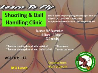 Shooting & Ball Handling Clinic
