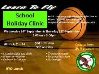 School  Holiday Clinic