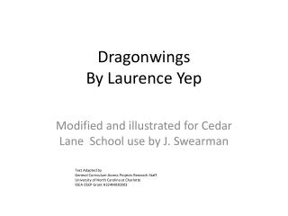 Dragonwings By Laurence Yep