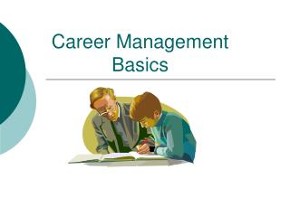 Career Management Basics