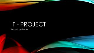 IT - project