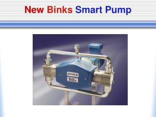 New Binks  Smart Pump