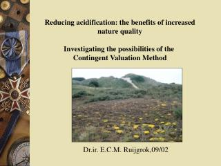Reducing acidification: the benefits of increased nature quality
