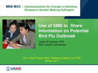 Use of SMS to  Share  Information on Potential  Bird Flu Outbreak