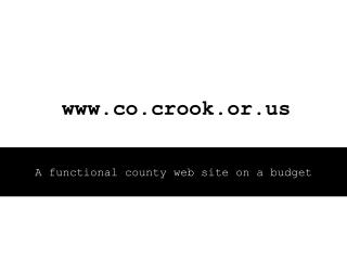 co.crook.or
