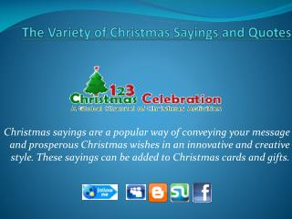 Discover Out Some Christmas Sayings & Quotes Online