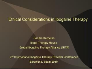 Ethical Considerations in Ibogaine Therapy
