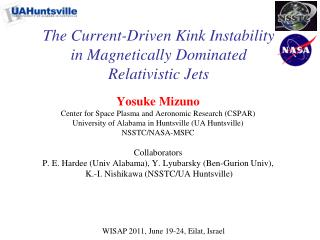 The Current-Driven Kink Instability in Magnetically Dominated Relativistic Jets