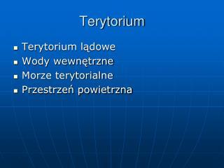 Terytorium