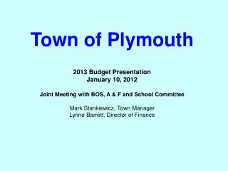 Town of Plymouth