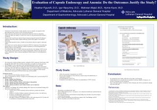 Evaluation of Capsule Endoscopy and Anemia: Do the Outcomes Justify the Study?