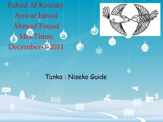 Fahad Al Kowary Anwar Ismail Ahmed Fouad Mrs.Timm December-1-2011