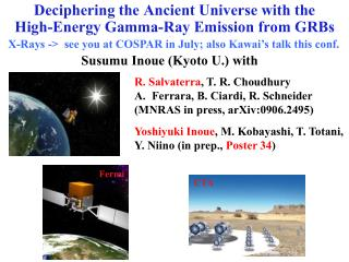 Deciphering the Ancient Universe with the High-Energy Gamma-Ray Emission from GRBs