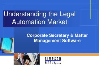Understanding the Legal Automation Market