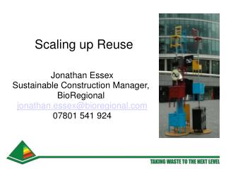 Scaling up Reuse