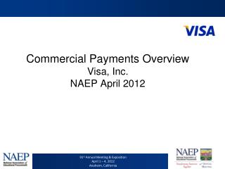 Commercial Payments Overview Visa, Inc. NAEP April 2012