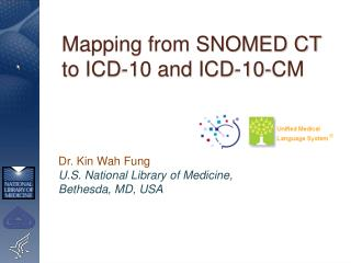 Mapping from SNOMED CT to ICD-10 and ICD-10-CM