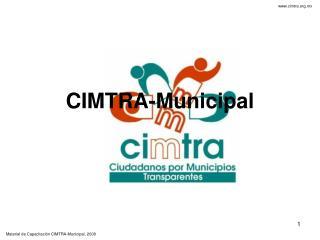 CIMTRA-Municipal