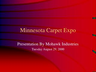Minnesota Carpet Expo
