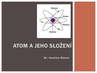 Atom a jeho složení