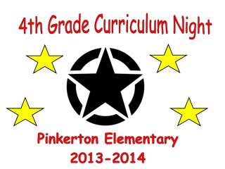 4th Grade Curriculum Night