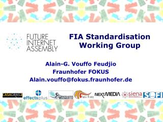 FIA Standardisation  Working  Group