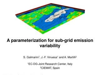 A parameterization for sub-grid emission variability